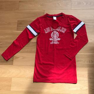 アディダス(adidas)のL size☆ アディダス長袖Tシャツ 赤(Tシャツ(長袖/七分))
