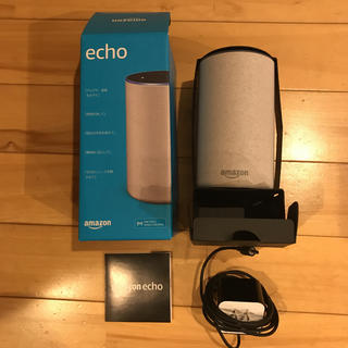 エコー(ECHO)のAmazon echo 第二世代 スマートスピーカー with Alexa(スピーカー)