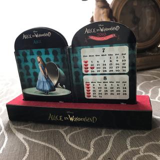 ディズニー(Disney)のアリスインワンダーランドカレンダー(その他)