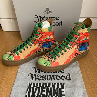 ヴィヴィアンウエストウッド(Vivienne Westwood)の❤️新品タグ付き❤️vivienne Westwoodレディーススニーカー(スニーカー)