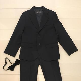 6c83c7fac4afb ザラキッズ(ZARA KIDS)のザラZARA 110ネイビージャケットパンツセット(ジャケット