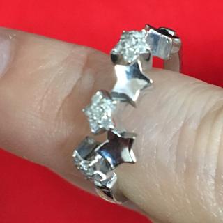 ポンテヴェキオ(PonteVecchio)のダイヤモンドリング  ダイヤリング18K 11号 値下げ!(リング(指輪))