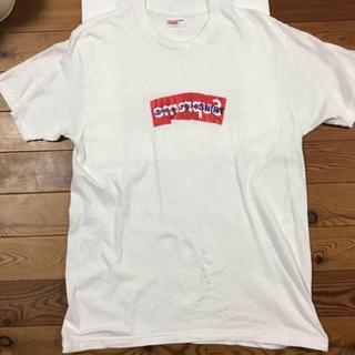 シュプリーム(Supreme)のsupreme  comme des garcons  box logo(Tシャツ/カットソー(半袖/袖なし))