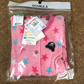 ダブルビー(DOUBLE.B)の♡Rii♡様専用 ミキハウス ダブルB B子ちゃんフリースパジャマ(B品)(パジャマ)