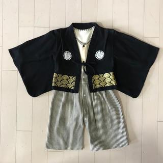 【専用】ベビー 【90】袴 ロンパース(和服/着物)