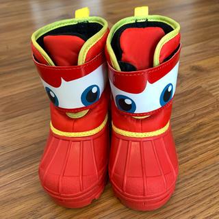 ディズニー(Disney)の新品 スノーブーツ カーズ 14cm マックイーン ディズニー 長靴 ブーツ(ブーツ)