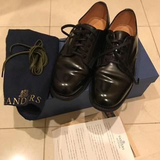 サンダース(SANDERS)のmii5様専用★Sanders    Plain Toe Shoe GB51/2(ローファー/革靴)
