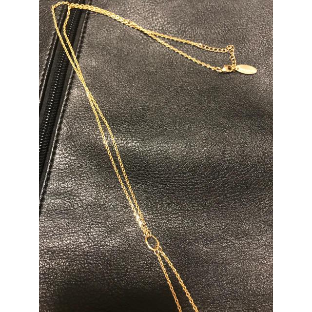 PAPILLONNER(パピヨネ)のパピヨネ PAPILLONNER ネックレス ゴールド レディースのアクセサリー(ネックレス)の商品写真