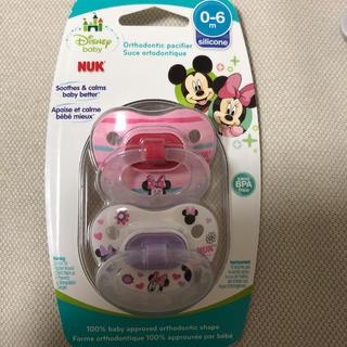 ディズニー(Disney)のNuk ヌーク おしゃぶり 2個セット Minnie Mouse ミニー マウス(その他)