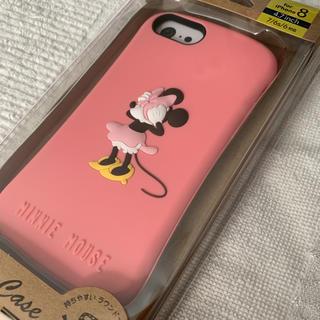 ディズニー(Disney)のミニーマウス シリコンケース iphoneケース(iPhoneケース)