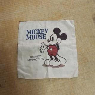 ディズニー(Disney)のミッキー 刺繍クッションカバー(クッションカバー)