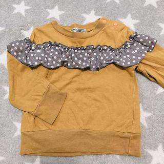 マーキーズ(MARKEY'S)の80 マーキーズ  マスタード ロンT フリフリ(Tシャツ)