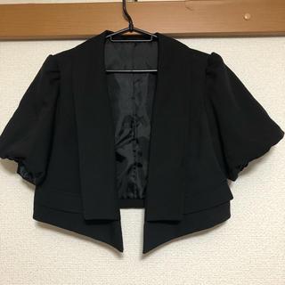 ブラック ショート丈ボレロ(ボレロ)