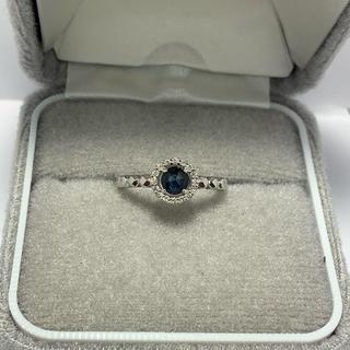 ヴァンドームアオヤマ(Vendome Aoyama)のサファイアダイヤモンドリング(リング(指輪))