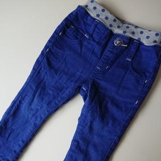 シマムラ(しまむら)のベビー うらもこ パンツ サイズ90cm ガールズ used ウエストゴム (パンツ/スパッツ)