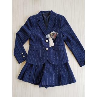 2d6102f53ed86 ベルメゾン(ベルメゾン)の 未使用 140 女の子 スーツ 卒業式(ドレス