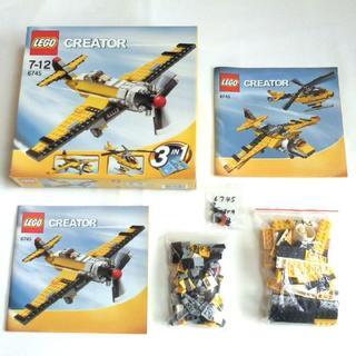 レゴ(Lego)のレゴ クリエイター プロペラパワー 3IN1 LEGO 6745(その他)