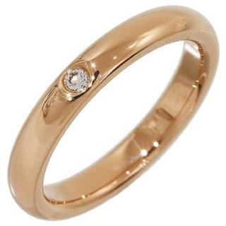 ティファニー(Tiffany & Co.)のTiffanyピンクゴールド1Pダイヤ新品同様リングティファニー(リング(指輪))