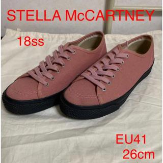 ステラマッカートニー(Stella McCartney)のSTELLA McCARTENY 17ss  キャンバス スニーカー メンズ(スニーカー)