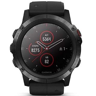 ガーミン(GARMIN)のfēnix 5X Plus Sapphire Black  (腕時計(デジタル))