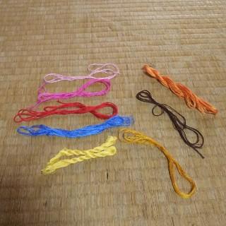 オリンパス(OLYMPUS)のOLYMPUS 刺繍 多少(生地/糸)