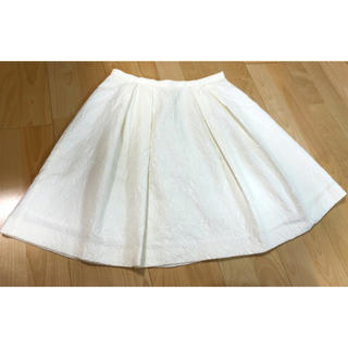 チェスティ(Chesty)のChesty♡ホワイトフレアスカート(ひざ丈スカート)