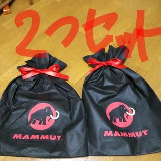 マムート(Mammut)のマムート☆ギフトバッグ「2つセット」(登山用品)