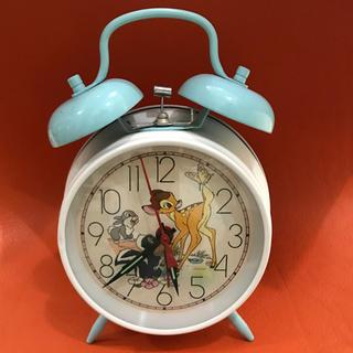 バンビ ディズニー 置き時計
