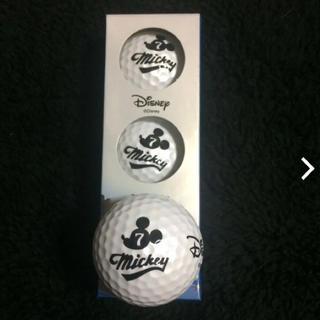 ディズニー(Disney)のMickey ゴルフボール(ゴルフ)