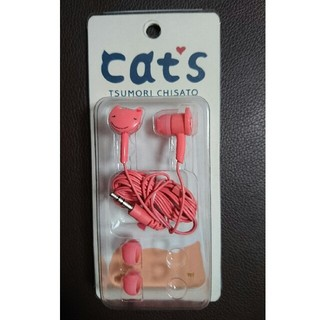 ツモリチサト(TSUMORI CHISATO)の【新品未使用】ネコのイヤホン (ヘッドフォン/イヤフォン)