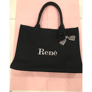 ルネ(René)のReneトートバッグブローチ付き(トートバッグ)