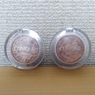 クリニーク(CLINIQUE)のCLINIQUE クリニーク アイシャドウ  2個  (チーク)