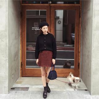 プラダ(PRADA)のprada ❤︎ ミニスカート miumiu  藤田ななみ calme (ミニスカート)