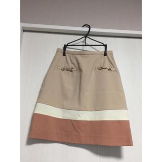 デュアルスレッド(Dual THREAD)の春色スカート(ひざ丈スカート)