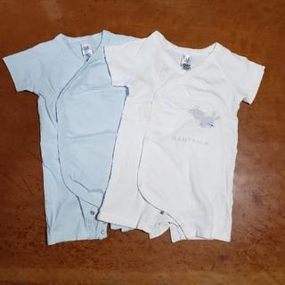 ギャップ(GAP)のGAP ベビーボディシャツ 2着(シャツ/カットソー)