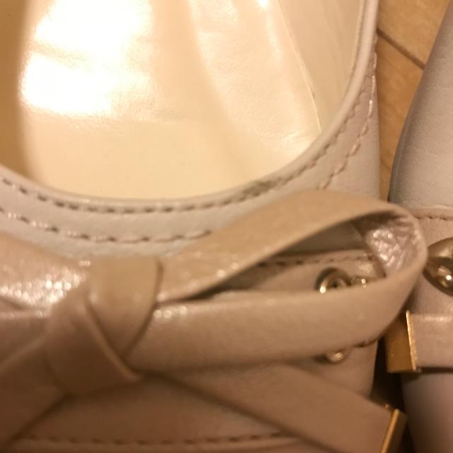BARCLAY(バークレー)の【専用】バークレー パンプス ベージュ リボン 23センチ レディースの靴/シューズ(ハイヒール/パンプス)の商品写真