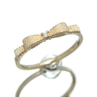 ジルスチュアート(JILLSTUART)のジルスチュアートリングYG×ダイアモンド(リング(指輪))