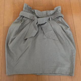 マーキュリーデュオ(MERCURYDUO)のMERCURYDUO コクーンスカート(ミニスカート)
