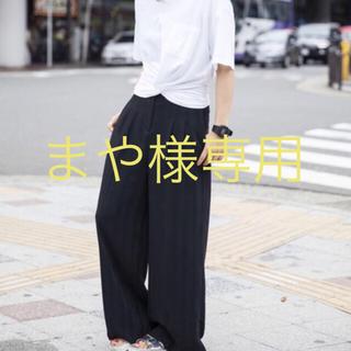 オキラク(OKIRAKU)のOKIRAKU ワイドパンツ ☆限定お値下げ☆(カジュアルパンツ)