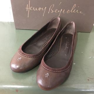 エンリーべグリン(HENRY BEGUELIN)のイタリア製 HENRY BEGUELIN パンプス USED(ハイヒール/パンプス)