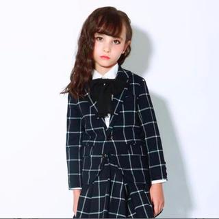 ジェネレーター(GENERATOR)のGENERATOR♡スーツ♡チェック♡130(ドレス/フォーマル)