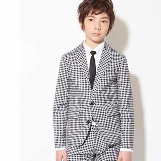 14a5801f50731 ジェネレーター(GENERATOR)のGENERATOR♡スーツ♡ギンガムチェック♡140(ドレス
