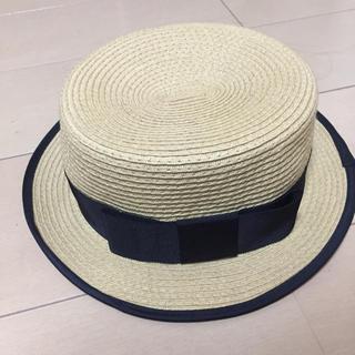 スナイデル(snidel)のスナイデル カンカン帽(麦わら帽子/ストローハット)