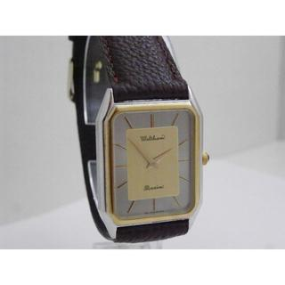 ウォルサム(Waltham)のWALTHAM ウォルサム Maxim 腕時計 2針 レクタンギュラー(腕時計(アナログ))