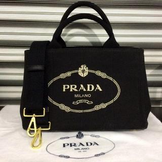 2bf77be836b2 プラダ(PRADA)のPRADA カナパ ブラック 人気のSサイズ ミニ(ショルダーバッグ