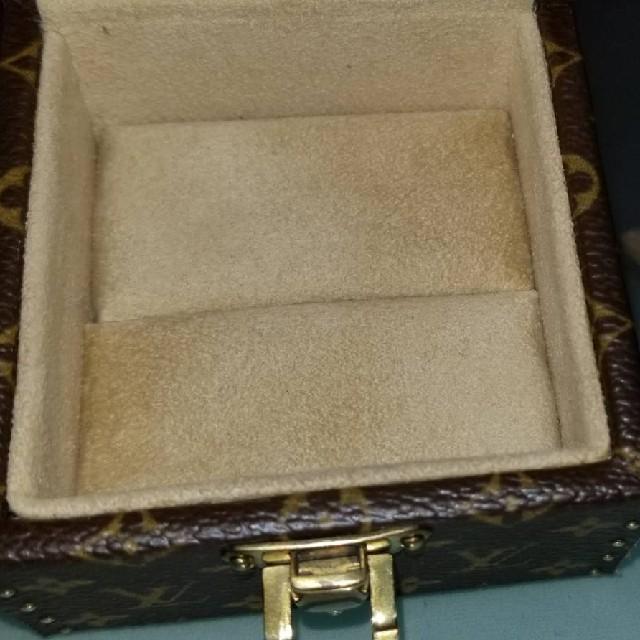 LOUIS VUITTON(ルイヴィトン)の美品☆正規品!ルイヴィトン モノグラム ジュエリー BOX ケース AS1004 レディースのアクセサリー(その他)の商品写真