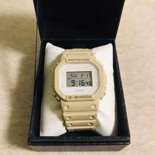 ジーショック(G-SHOCK)のポンさん専用G-SHOCK DW-5600EW-7JF スクエア サンドベージュ(腕時計(デジタル))