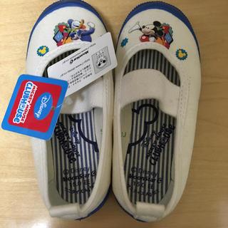 ディズニー(Disney)のなつみかん様専用:ディズニー 上靴 上履き ミッキー ドナルド(スクールシューズ/上履き)