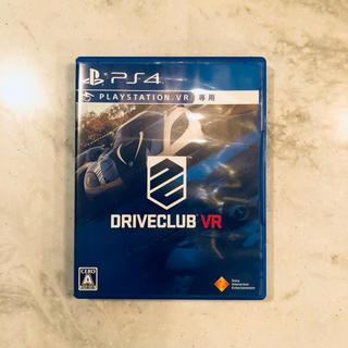 プレイステーションヴィーアール(PlayStation VR)の中古 PS4 Driveclub VR (家庭用ゲームソフト)