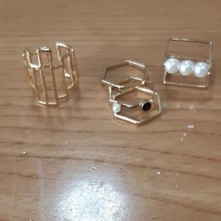 ハニーミーハニー(Honey mi Honey)の指輪 3点セット(リング(指輪))